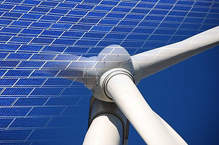 solar power and wind