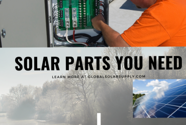 Solar panel system parts