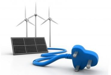 On-site power generation using distributed renewable energy systems like solar PV.