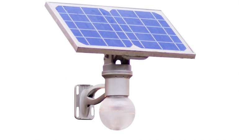 How does solar lights work