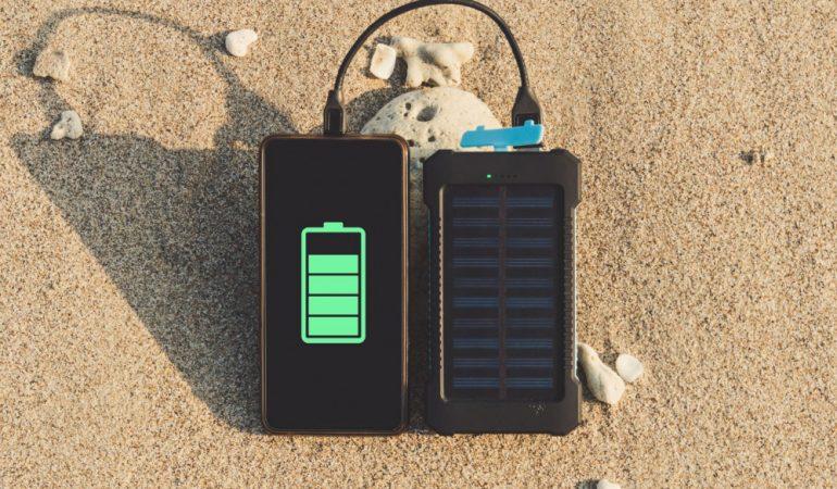 Solar 12v battery charger