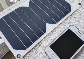 How do portable solar chargers work?