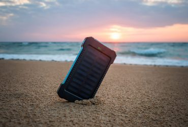 How to use a solar phone charger