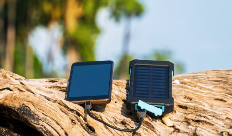Solar laptop charger – the simplest way to charge a laptop while camping.